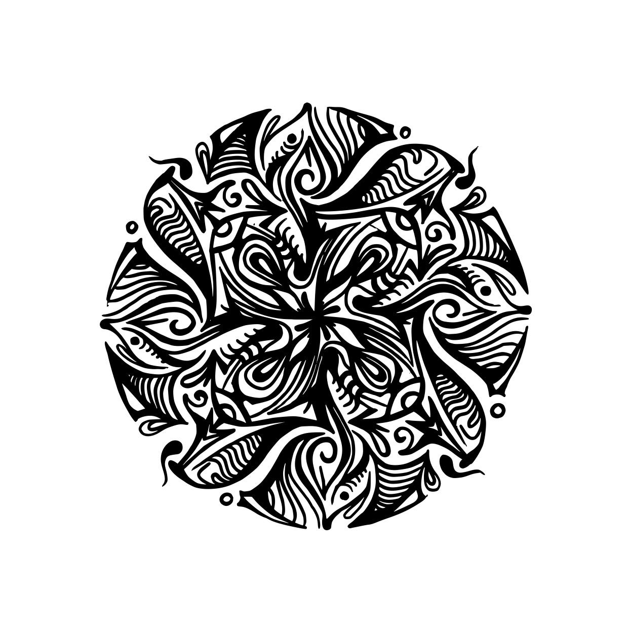 """Tattoovorlage """"Mandala"""""""