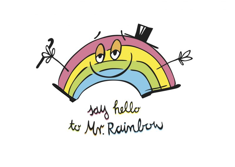 Say Hello To Mr.Rainbow Single Track Cover Artwork