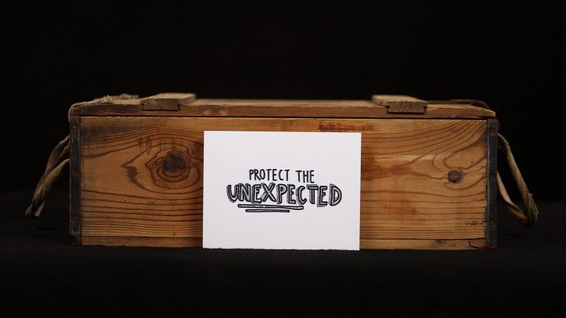 Protect The Unexpected Print Illustration Full View