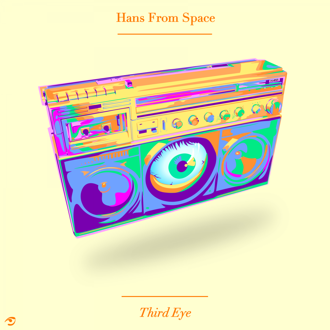 """Hans From Space - Third Eye"" Cover Artwork"