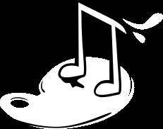"""Icon """"Kombination Kunst und Musik"""""""