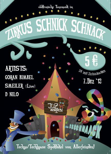 13.12.07 - Schnick Schnack Zirkus No.1 Flyer