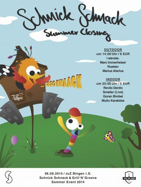 14.09.06 - Schnick Schnack Summer Closing Flyer Front
