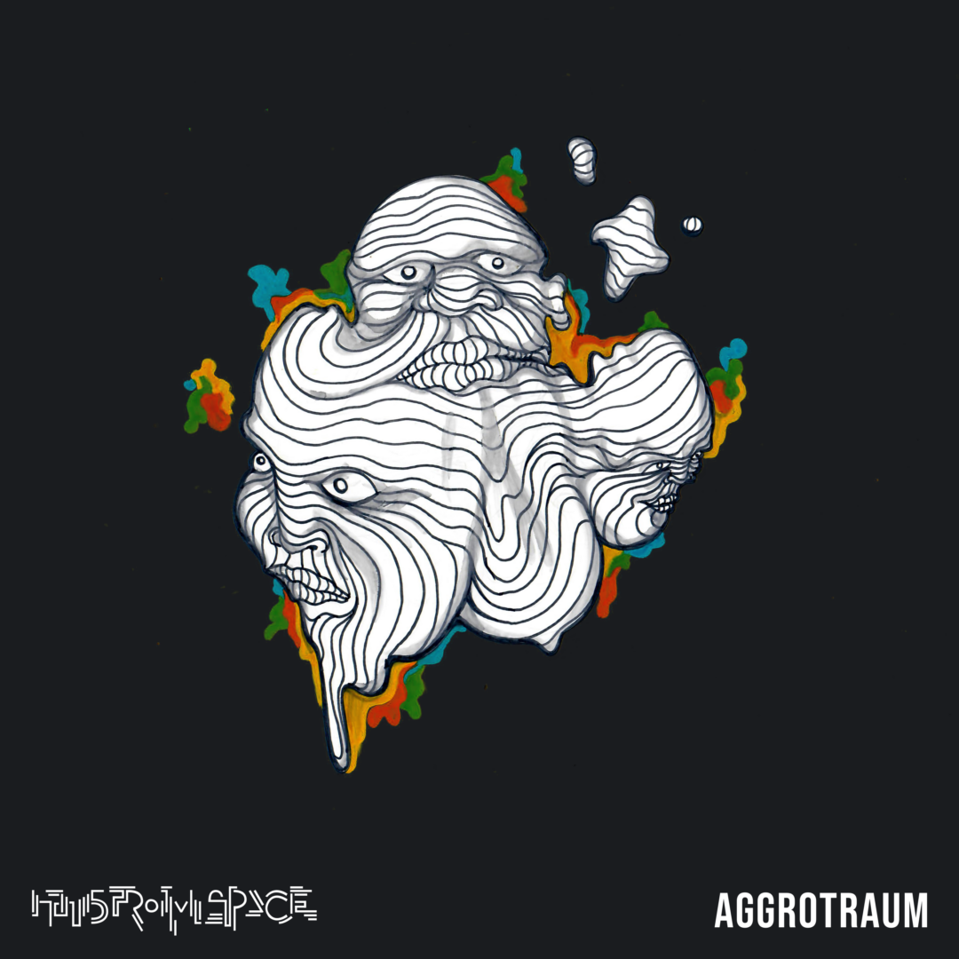 Aggrotraum Album Cover Art von Hans From Space
