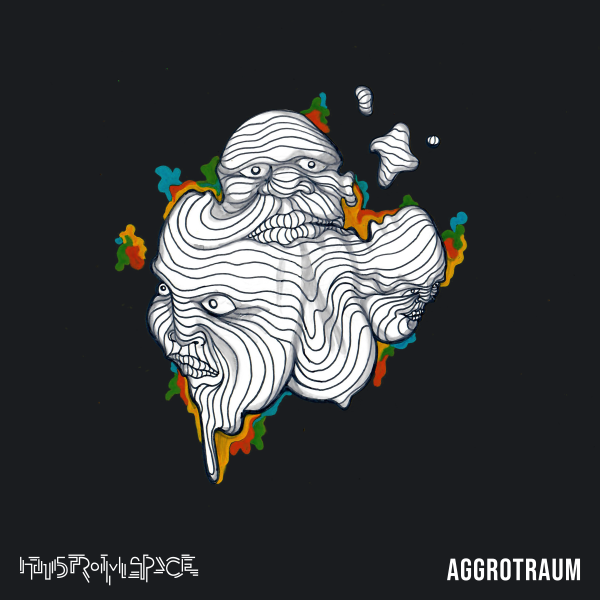 Aggrotraum Album Cover Art von Hans From Space