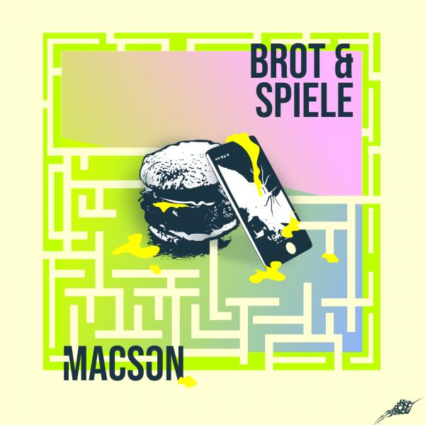 Macson - Brot und Spiele EP Coverartwork von Hans From Space